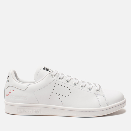 b17f5e4b3122 Кроссовки adidas Originals x Raf Simons Stan Smith White Cream White Core  Black