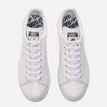 Кроссовки adidas Originals x Raf Simons Stan Smith White/White/Core Black фото- 4