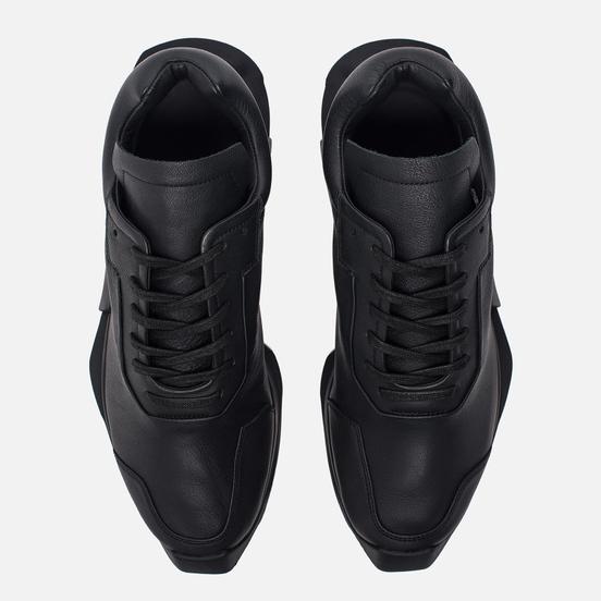 Кроссовки adidas Originals x Rick Owens Level Runner Low II Black/Milk/Black