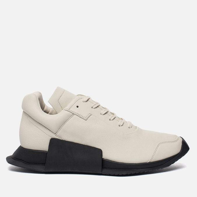 Кроссовки adidas Originals x Rick Owens Level Runner Low II Milk/Black/White