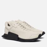 Кроссовки adidas Originals x Rick Owens Level Runner Low II Milk/Black/White фото- 2