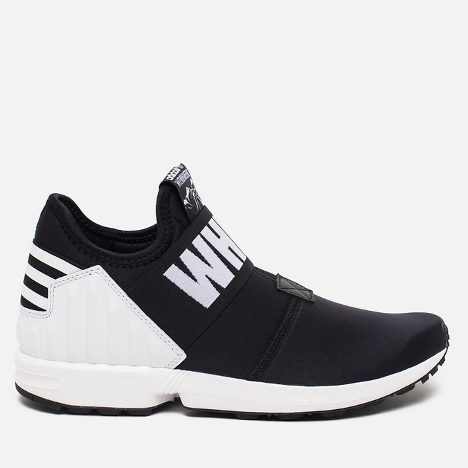 Мужские кроссовки adidas Originals x White Mountaineering ZX Flux Black