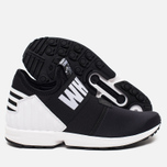 Мужские кроссовки adidas Originals x White Mountaineering ZX Flux Black фото- 2