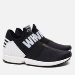 Мужские кроссовки adidas Originals x White Mountaineering ZX Flux Black фото- 1