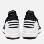Мужские кроссовки adidas Originals x White Mountaineering ZX Flux Black фото- 3