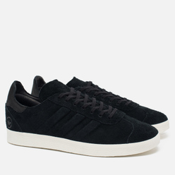 Мужские кроссовки adidas Originals x Wings + Horns Gazelle OG Black/White