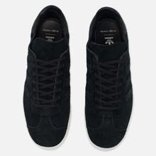 Мужские кроссовки adidas Originals x Wings + Horns Gazelle OG Black/White фото- 1