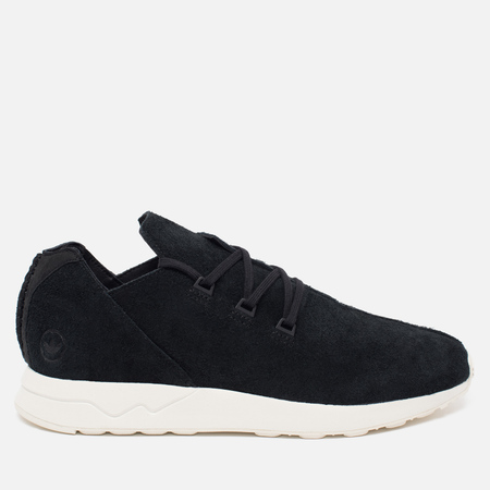 adidas Originals x Wings + Horns ZX Flux X Sneakers Black/White