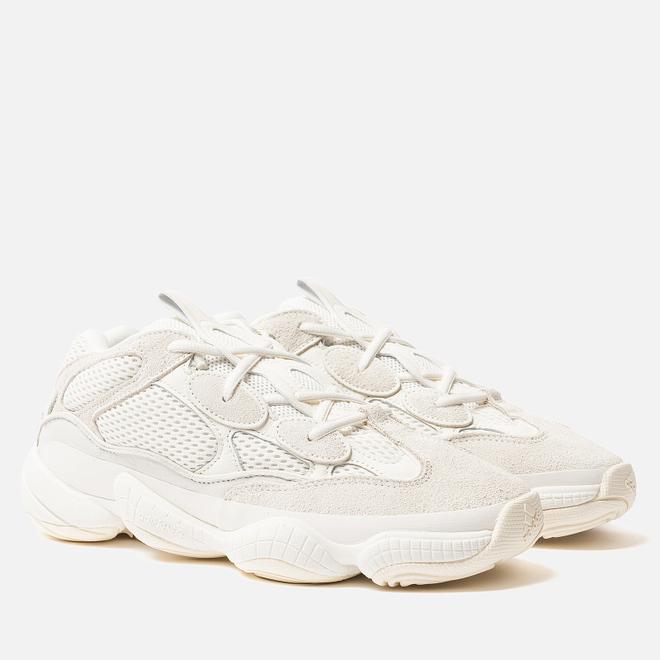 Кроссовки adidas Originals Yeezy 500 Bone White/Bone White/Bone White