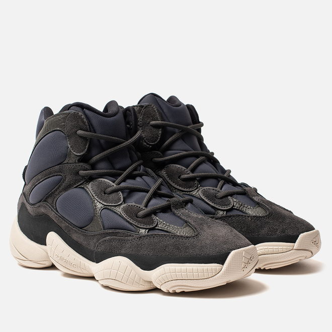 Кроссовки adidas Originals YEEZY 500 High Slate/Slate/Slate