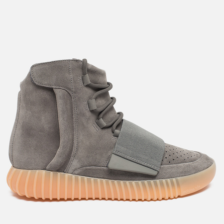 adidas Originals Yeezy 750 Boost Sneakers Light Grey/Gum