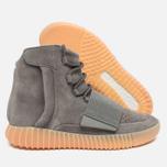Кроссовки adidas Originals Yeezy Boost 750 Light Grey/Gum фото- 2