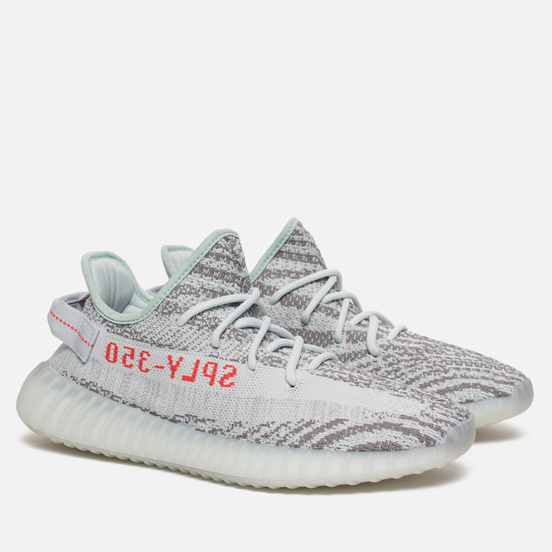 Кроссовки adidas Originals YEEZY Boost 350 V2 Blue Tint/Grey Three/High Resolution Red