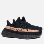 Кроссовки adidas Originals Yeezy Boost 350 V2 Core Black/Copper Metallic фото- 2