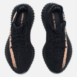 Кроссовки adidas Originals Yeezy Boost 350 V2 Core Black/Copper Metallic фото- 4