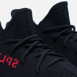 Кроссовки adidas Originals Yeezy Boost 350 V2 Core Black/Core Black/Red фото- 3
