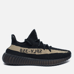Кроссовки adidas Originals Yeezy Boost 350 V2 Core Black/Green фото- 0