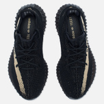 Кроссовки adidas Originals Yeezy Boost 350 V2 Core Black/Green фото- 5