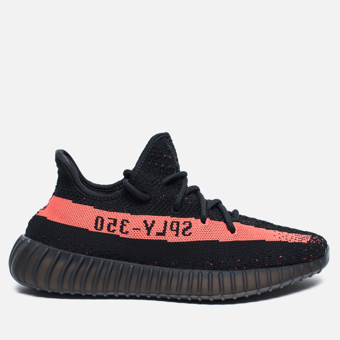 Кроссовки adidas Originals Yeezy Boost 350 V2 Core Black/Red