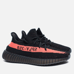 Кроссовки adidas Originals Yeezy Boost 350 V2 Core Black/Red фото- 2