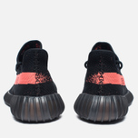 Кроссовки adidas Originals Yeezy Boost 350 V2 Core Black/Red фото- 5