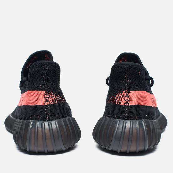Кроссовки adidas Originals YEEZY Boost 350 V2 Core Black/Red