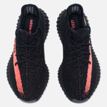 Кроссовки adidas Originals Yeezy Boost 350 V2 Core Black/Red фото- 4