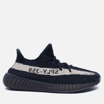 Кроссовки adidas Originals Yeezy Boost 350 V2 Core Black/Vintage White фото- 0
