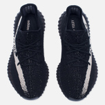 Кроссовки adidas Originals Yeezy Boost 350 V2 Core Black/Vintage White фото- 4