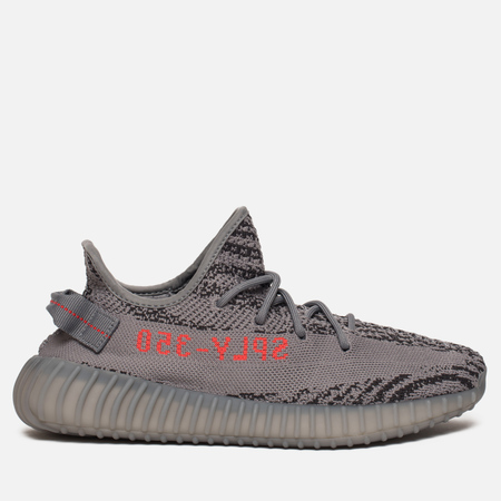 Кроссовки adidas Originals Yeezy Boost 350 V2 Grey/Bold Orange/Dark Grey