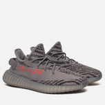 Кроссовки adidas Originals Yeezy Boost 350 V2 Grey/Bold Orange/Dark Grey фото- 2