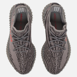 Кроссовки adidas Originals Yeezy Boost 350 V2 Grey/Bold Orange/Dark Grey фото- 4