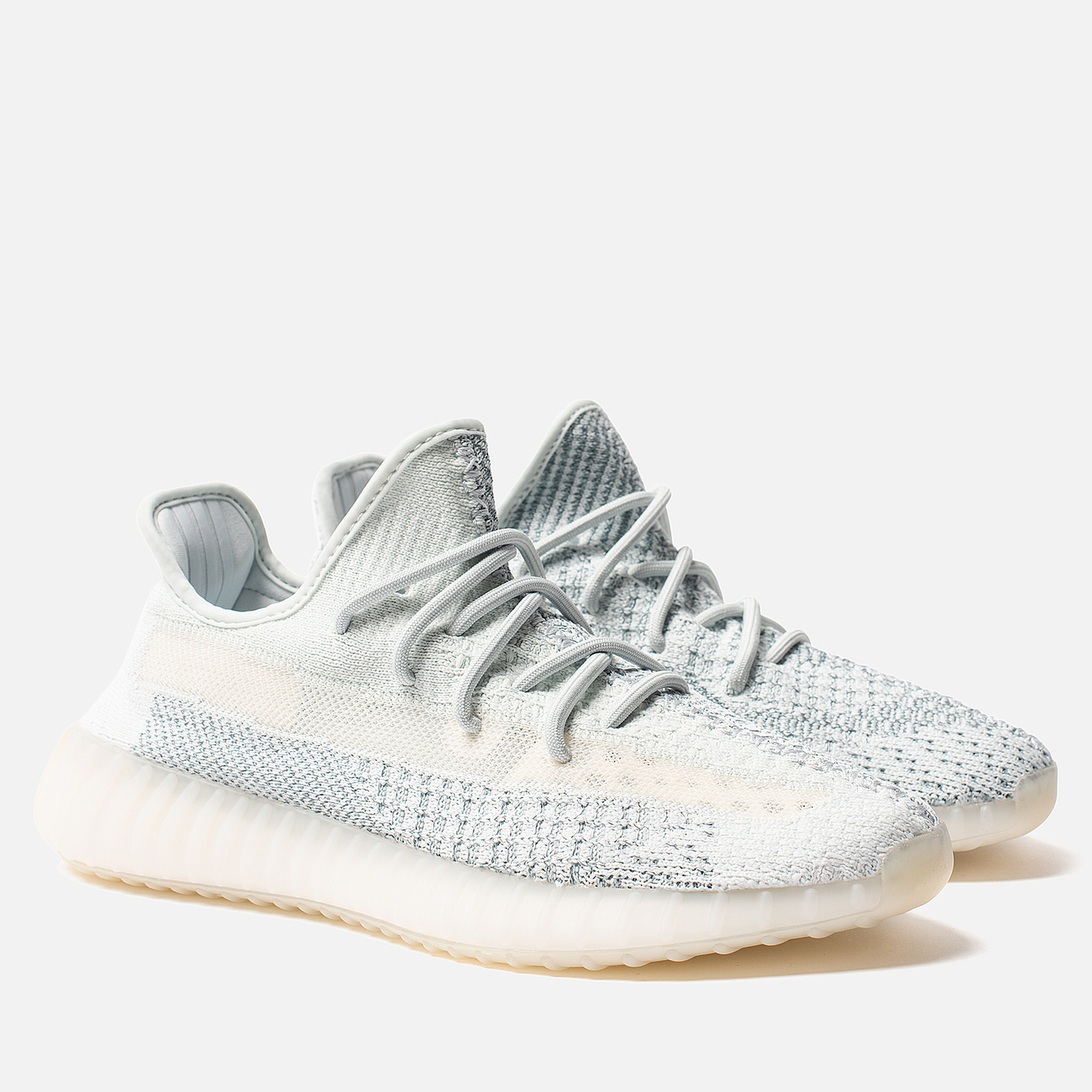 Кроссовки adidas Originals YEEZY Boost 350 V2 Reflective Cloud White