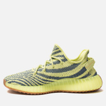 Кроссовки adidas Originals Yeezy Boost 350 V2 Semi/Frozen Yellow/Raw Steel/Red фото- 1