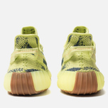 Кроссовки adidas Originals Yeezy Boost 350 V2 Semi/Frozen Yellow/Raw Steel/Red фото- 3