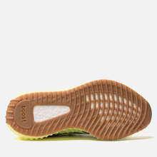 Кроссовки adidas Originals Yeezy Boost 350 V2 Semi/Frozen Yellow/Raw Steel/Red фото- 4