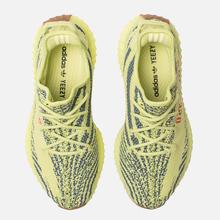 Кроссовки adidas Originals Yeezy Boost 350 V2 Semi/Frozen Yellow/Raw Steel/Red фото- 5