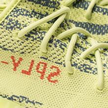 Кроссовки adidas Originals Yeezy Boost 350 V2 Semi/Frozen Yellow/Raw Steel/Red фото- 6