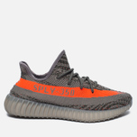 Кроссовки adidas Originals Yeezy Boost 350 V2 Stealth Grey/Beluga/Solar Red фото- 0