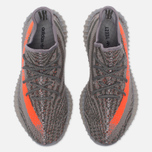Кроссовки adidas Originals Yeezy Boost 350 V2 Stealth Grey/Beluga/Solar Red фото- 4