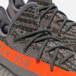 Кроссовки adidas Originals Yeezy Boost 350 V2 Stealth Grey/Beluga/Solar Red фото- 5