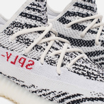 Кроссовки adidas Originals Yeezy Boost 350 V2 White/Core Black/Red фото- 3