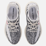 Кроссовки adidas Originals Yeezy Boost 350 V2 White/Core Black/Red фото- 4