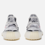 Кроссовки adidas Originals Yeezy Boost 350 V2 White/Core Black/Red фото- 5