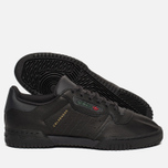 Кроссовки adidas Originals Yeezy Powerphase Black фото- 1