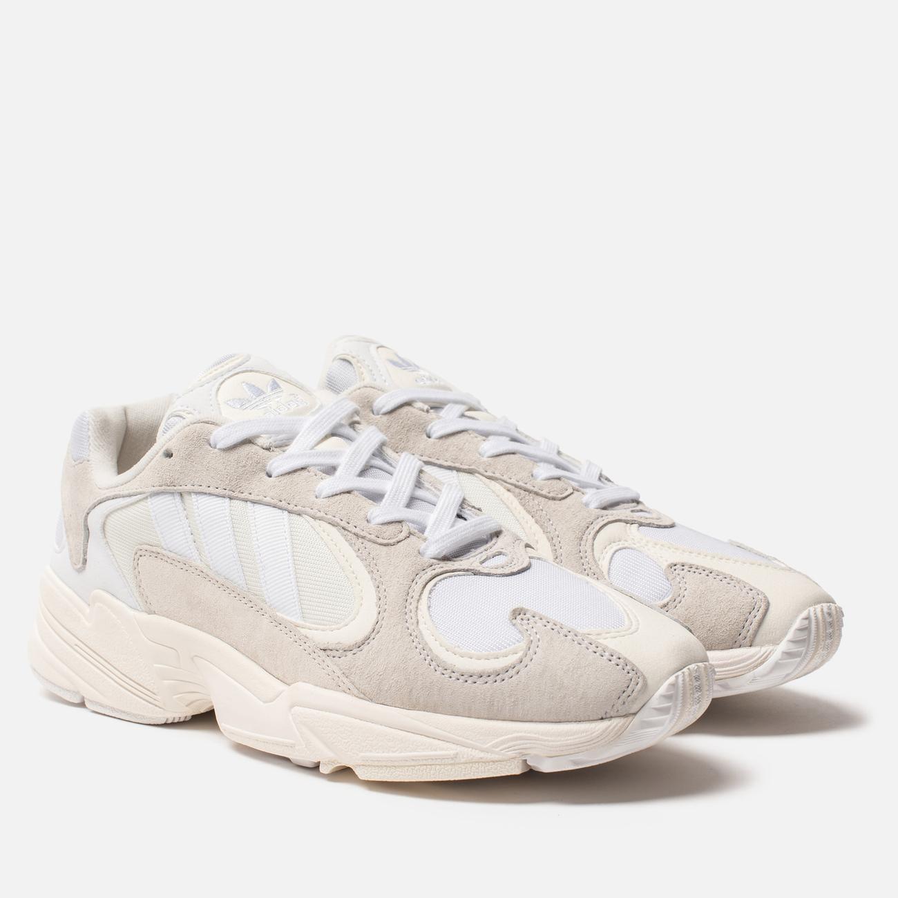 Кроссовки adidas Originals Yung-1 Cloud White/Cloud White/White
