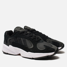 Кроссовки adidas Originals Yung-1 Core Black/Core Black/White фото- 2