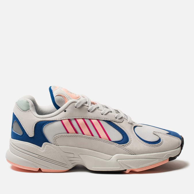 Кроссовки adidas Originals Yung-1 Crystal White/Clear Orange/Collegiate Royal