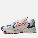 Кроссовки adidas Originals Yung-1 Crystal White/Clear Orange/Collegiate Royal фото- 1