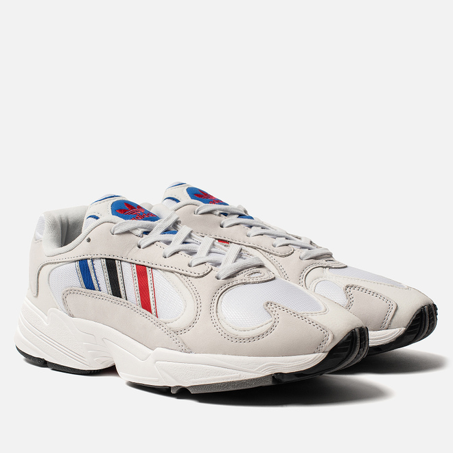Кроссовки adidas Originals Yung-1 Crystal White/Silver Metallic/Core Black